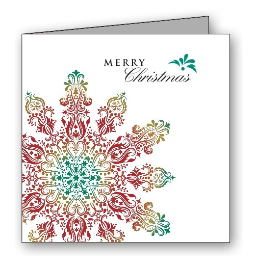 Joy Christmas Greeting Card