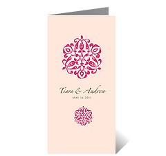 Persian Beauty Wedding Card